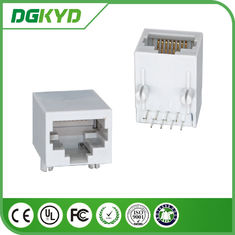 Cina Tunggal Pelabuhan RJ45 PCB Konektor Transformer Optical Transceiver pabrik