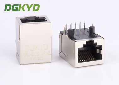 Konektor jaringan RJ45 Single Port Magnetic Jacks dengan 1000Mb Transformer