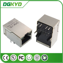 25.4mm Tap Up RJ45 Ethernet Connector dengan 10 / 100BaseTransformer